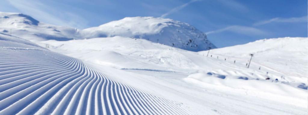 Op skivakantie in Oostenrijk - mooi geprepareerde skipiste