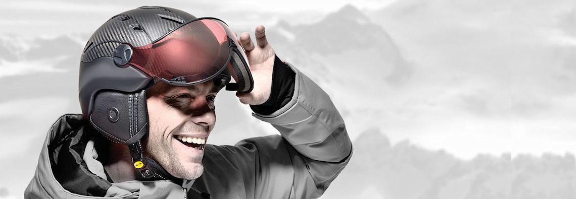 skihelm met vizier - de beste en mooiste