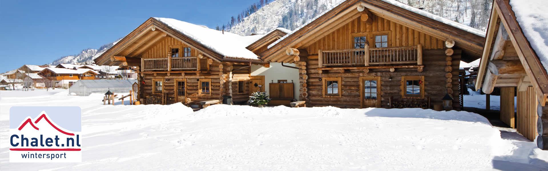 chalet.nl | voor wintersport vakantie in Oostenrijk of Frankrijk in luxe vakantiehuis chalet