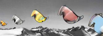 skihelm vizier los kopen - spiegelend - meekleurend (photochromic) of polariserend